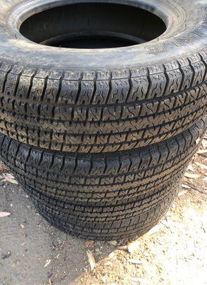 Carlisle Trailer tires 175 80 13 LOTS OF TREAD!!! for Sale in El Cajon, CA