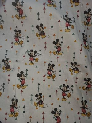 Mickey mouse fabric 1 yard for Sale in Dixon, MO