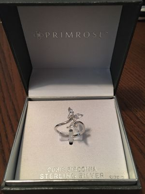 Sterling Silver CZ Butterfly Ring Primrose sz 7 BRAND NEW in box for Sale in Hartford, CT