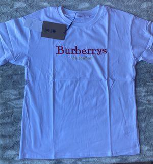 White Burberry t shirt for Sale in Miami, FL