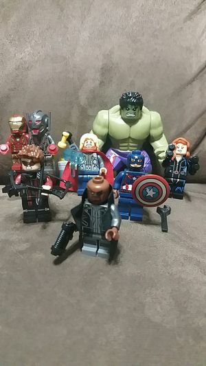Custom Avengers minifigures Lego System for Sale in Pearland, TX