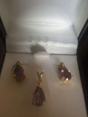Matching earrings and pendant for Sale in Alexandria, VA