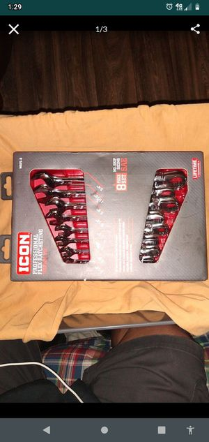 ICON 8 pc ratchet wrenches SAE (brand new) for Sale in Mesa, AZ