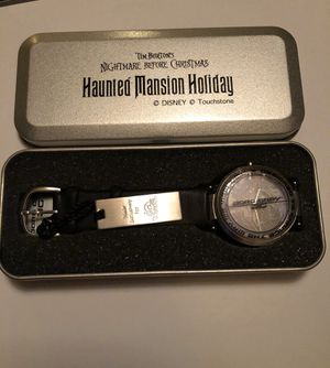 Haunted Mansion Holiday Nightmare Before Christmas Watch for Sale in Corona, CA