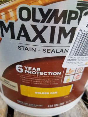 Olympic Maximum Stain Sealant for Sale in Chandler, TX