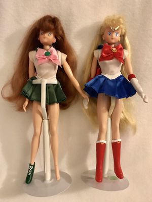 Sailor Moon & Jupiter Dolls for Sale in Stafford, TX