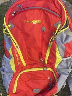 Red backpack with hip belt for Sale in San Diego,  CA