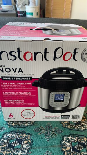 Instant Pot 6 Quart open box for Sale in Anaheim, CA