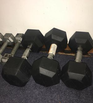 Brand new dumbbells for Sale in Rockaway, NJ