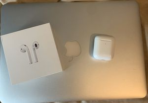 Airpods w/ Wireless Charging Case for Sale in Miami, FL