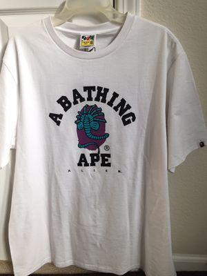 Bape X Alien Tee shirt for Sale in Woodland, CA