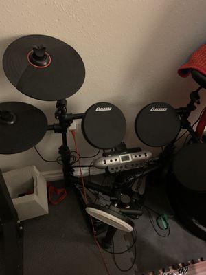 Electric drum set. Carlsbad brand for Sale in San Jacinto, CA