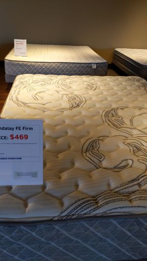 FREE FOUNDATION AND FRAME with purchase of mattress!!!!!!!!!! for Sale in Springdale, AR