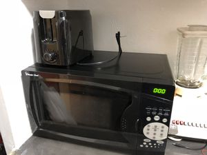 Microwave and toaster for 20$ for Sale in Hoboken, NJ