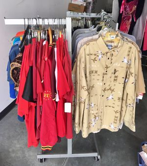4 arm Rack that holds or displays Clothing for Sale in Apex, NC