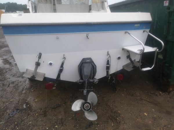 Fishing Boat with trailer must go