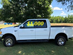 🔑💲1,OOO I'm seling URGENTLY🔑2OO2 Ford F-15O Super Crew Cab 4-Door Runs and drives very smooth Clean Title Excellent condition🔑🔑🔑 for Sale in Chattanooga, TN