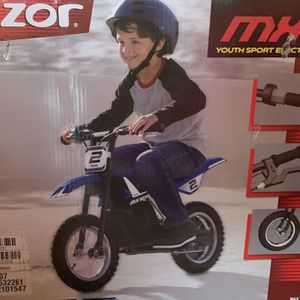 Razor Dirt Rocket MX 125 Kid's Electric Motorcycle for Sale in Floral Park, NY