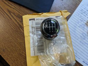 MazdaSpeed 3 Leather 6-Speed Manual Shift Knob for Sale in Solebury, PA