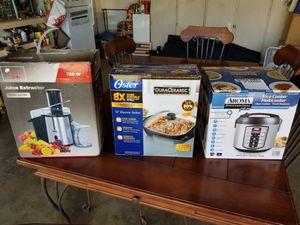 Juicer, Skillet, Rice Cooker..New for Sale in Mesa, AZ