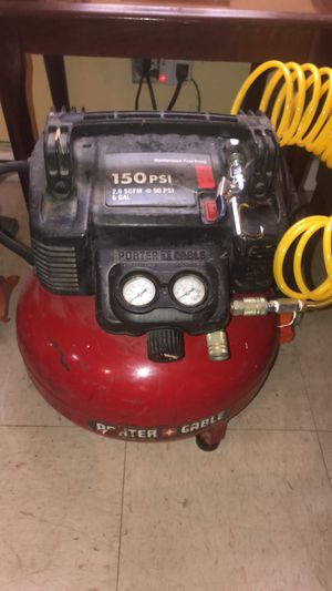 Compressor with air hose for Sale in New York, NY