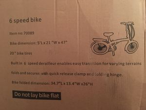 Adventure folding bicycle for Sale in Arlington, VA
