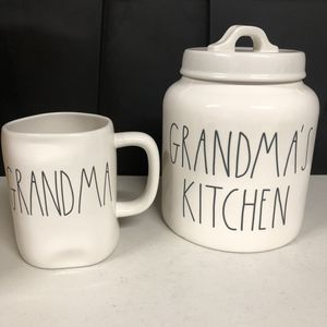 Rae Dunn Mother's Day Set GRANDMA'S KITCHEN CANISTER & Mug. Condition is New. Shipped with USPS Priority Mail. for Sale in Anaheim, CA