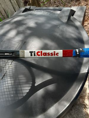 Head ti classic tennis racket for Sale in St. Petersburg, FL