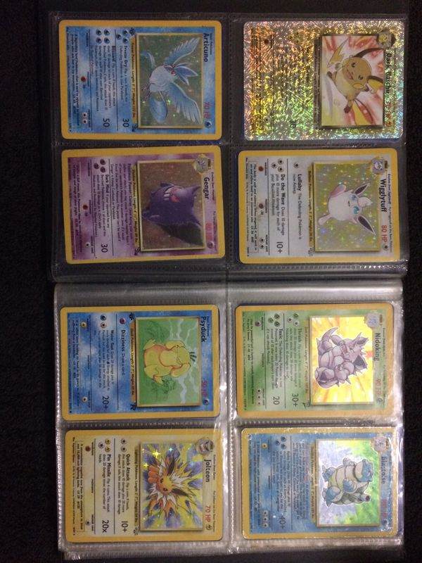 Large Pokemon collection