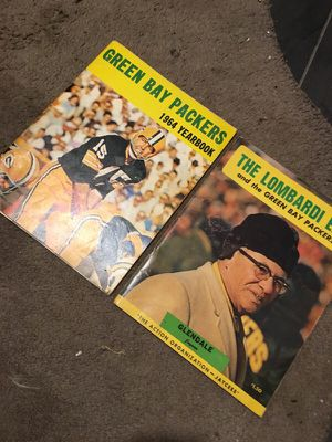 Vintage Green Bay Packers 1964 Yearbook & Vince Lombardi for Sale for sale  South Amboy, NJ