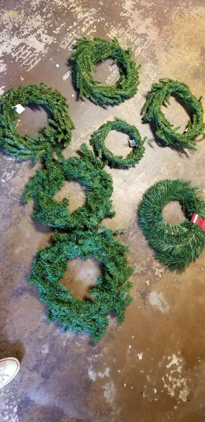 Christmas wreaths and garlands for Sale in McLean, VA