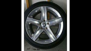 2010 jeek cherokee srt8 rear OEM wheels and tires for Sale in South Gate, CA