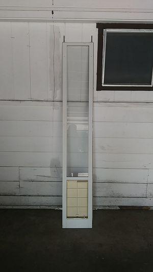 Pet door 77 x 12.5 for Sale in El Cajon, CA