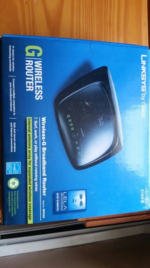 Wireless-G Broadband router ....model number WRT54G2 for Sale in Saugus, MA