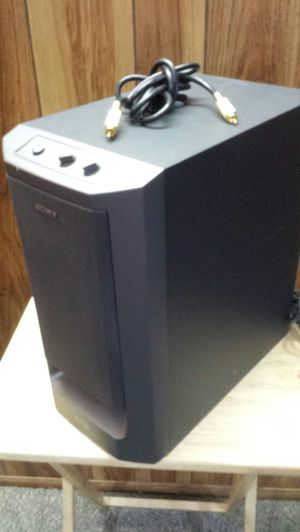 Sony Powered Subwoofer for Sale in St. Louis, MO
