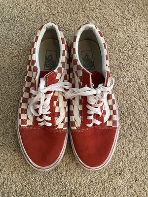 Vans Checkerboard Red Old Skool size 11 for Sale in Las Vegas, NV