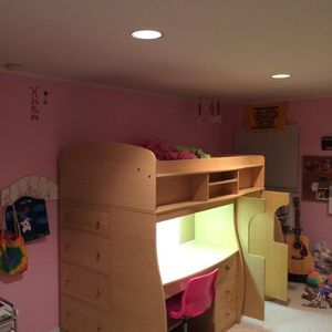 Twin Loft Bed 8' Length, 4' Width, 5 1/2' Height for Sale in Oceanside, NY