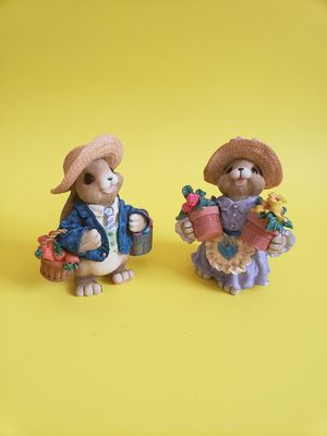 Mervyns him her rabbits figurines 1999 for Sale in Las Cruces, NM