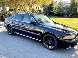 BMW E39! M5 Bumper, Clean Title, New Tires, Reliable for Sale in Fremont, CA