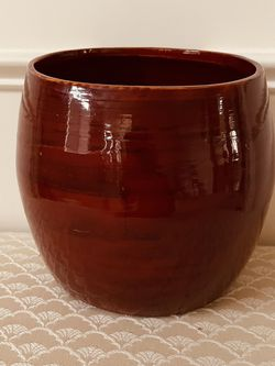 Brand New Red Bamboo Pot From Vietnam $10 for Sale in Indianapolis,  IN