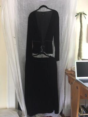 Velvet skirt and jacket for Sale in Boston, MA