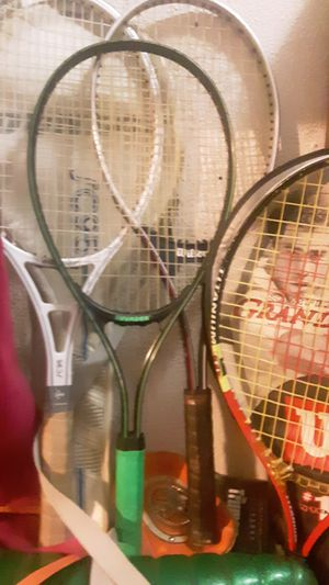 4 different tennis rackets for Sale in Akron, OH