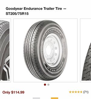 Aluminum trailer wheels and tires for Sale in Norwalk, CA