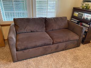 Microfiber sleeper sofa for Sale in DuPont, WA