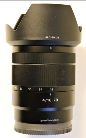 Sony Zeiss 16-70mm f4 E-mount Lens for Sale in Miami, FL