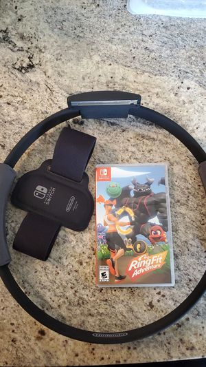 Ring Fit Adventure (Nintendo Switch) for Sale in Edmonds, WA
