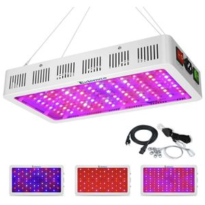 LED Grow Light Full Spectrum for Indoor Plants Veg and Flower,led Plant Growing Light Fixtures with Daisy Chain Function (Triple-Chips 15W LED) for Sale in Colonial Heights, VA