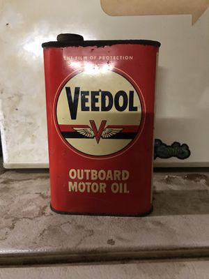 Vintage Veedol oil can. Never opened! for Sale in Acampo, CA