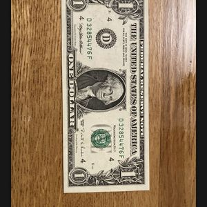 Rare miss printed dollar bill for Sale in Cheshire, CT