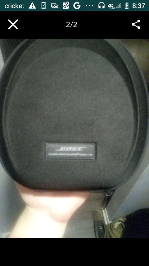 Bose Quiet Comfort 15 noise cancellation headphones